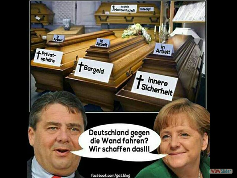 1.6 - Deutschland gegen die Wand fahren wir schaffen das