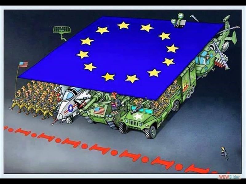 10 - EU Flagge US Armee