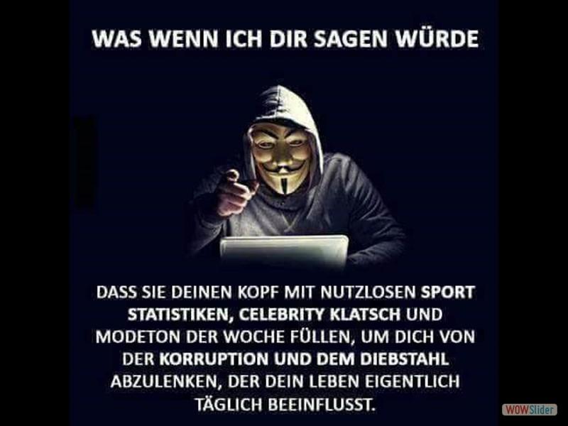 20 - Medien - Vendetta Guy Fawkes nutzloses zeugs Oberflächlichkeiten