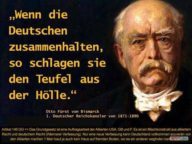 7 - Bismarck - Wenn die Deutschen zusammenhalten