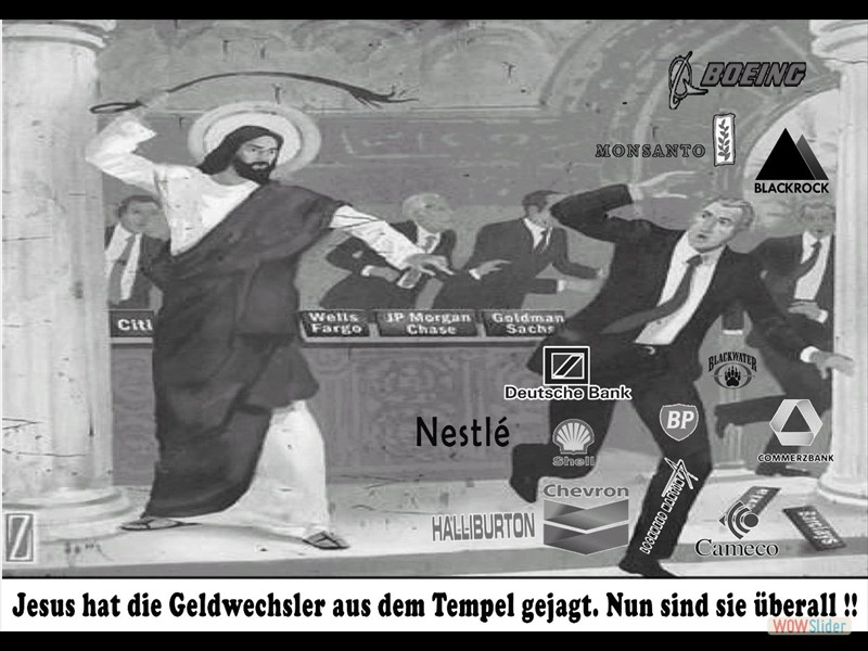 Jesus und die Geldwechsler