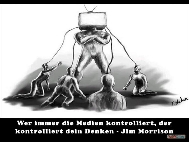 Wer immer die Medien kontrolliert -  Spaltung zu erzeugen gehört leider zum täglichen Geschäft der Mainstream-